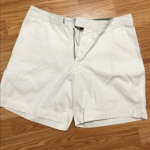 Royal Robbins white cargo shorts